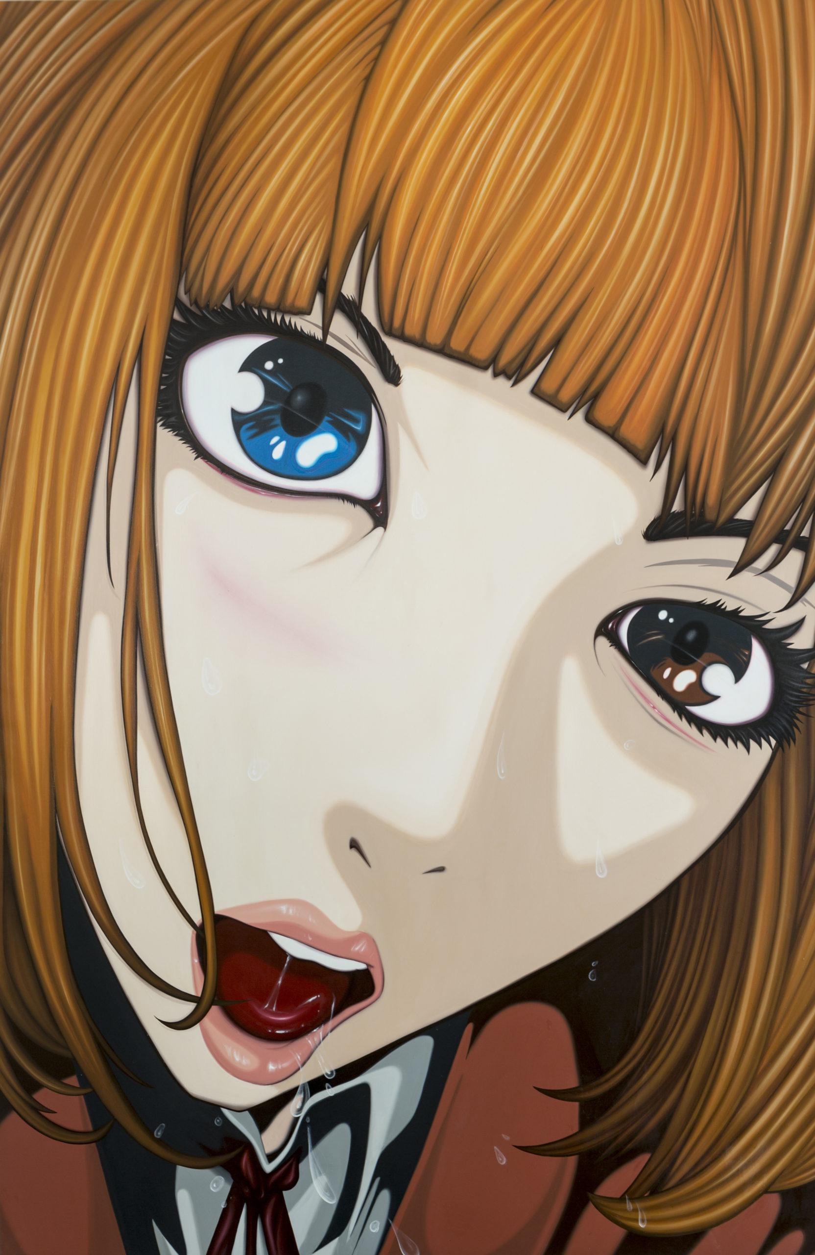 HANA #01 – 2018, acrylic on canvas, 180×120