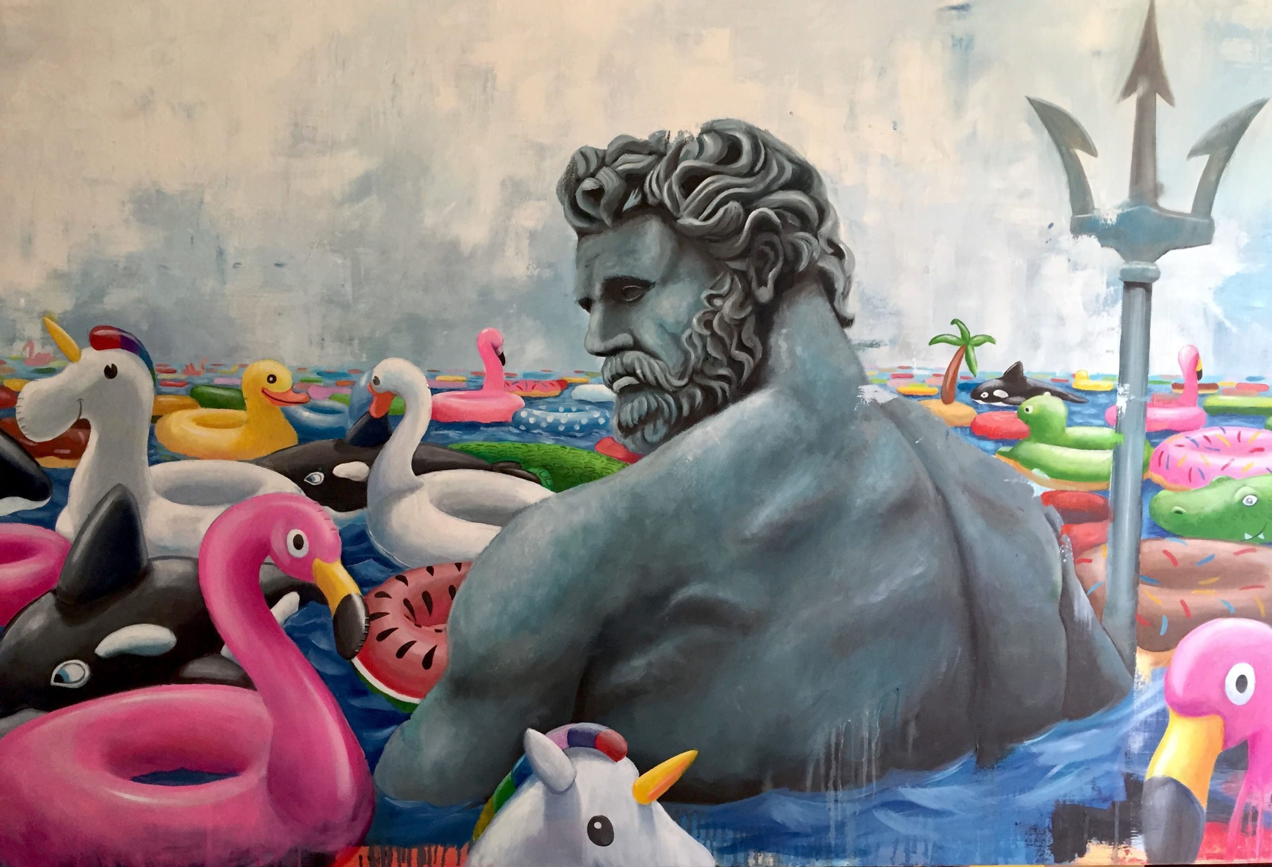 2019_Poseidon_oil_canvas_cm120x80