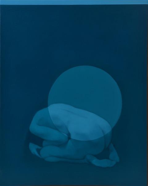 Echos, oil on canvas,100 x 80 cm, 2018 – Private collection (Modica)